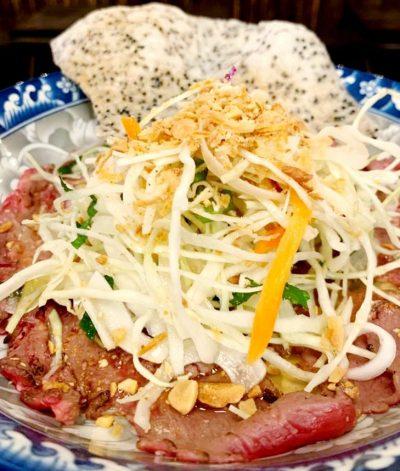 Mekong District Restaurant Nyack - Viet Carpaccio